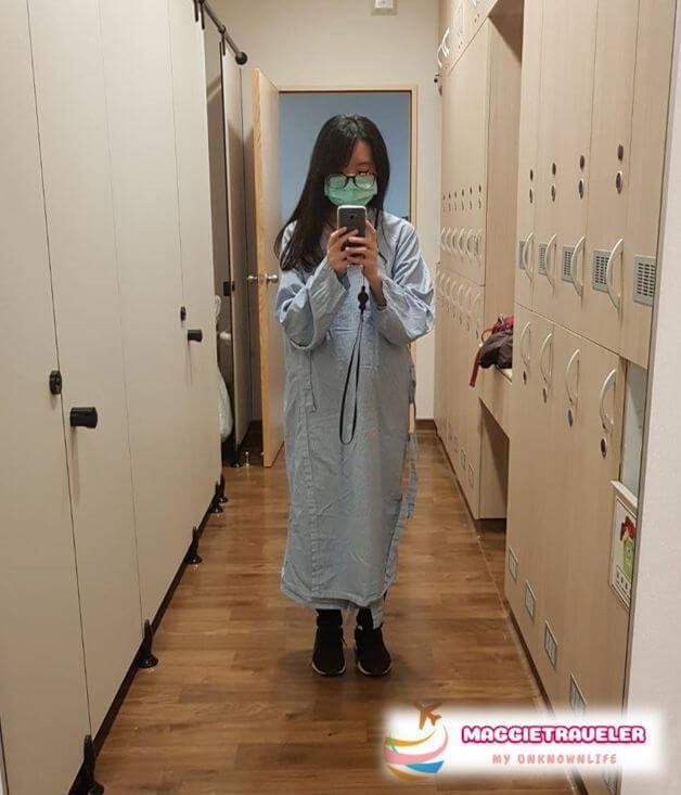 體檢X光衣服